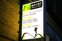 Polep výloh Sport Industry
