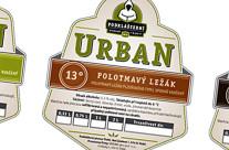 Pivní etikety Urban