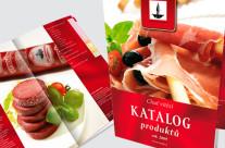 Tisk produktových katalogů Masokombinát Polička