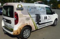 Variant – polep užitkového vozu Fiat Doblo