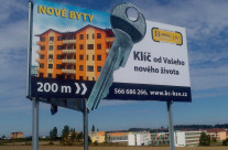 Building Centrum – výroba a polep billboardu