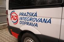 Fosan – polep dodávek pro Pražskou integrovanou dopravu