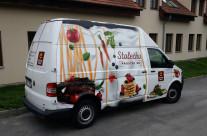 Clarion Congress Hotel – polep cateringových vozů