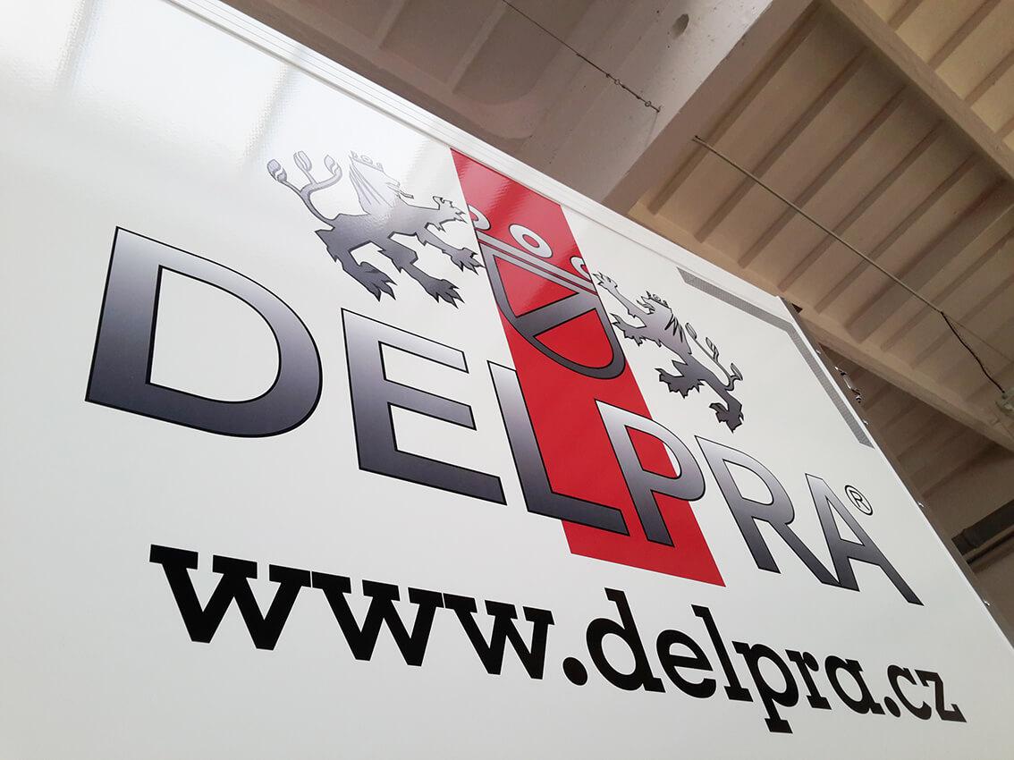 Delpra – polep dodávek