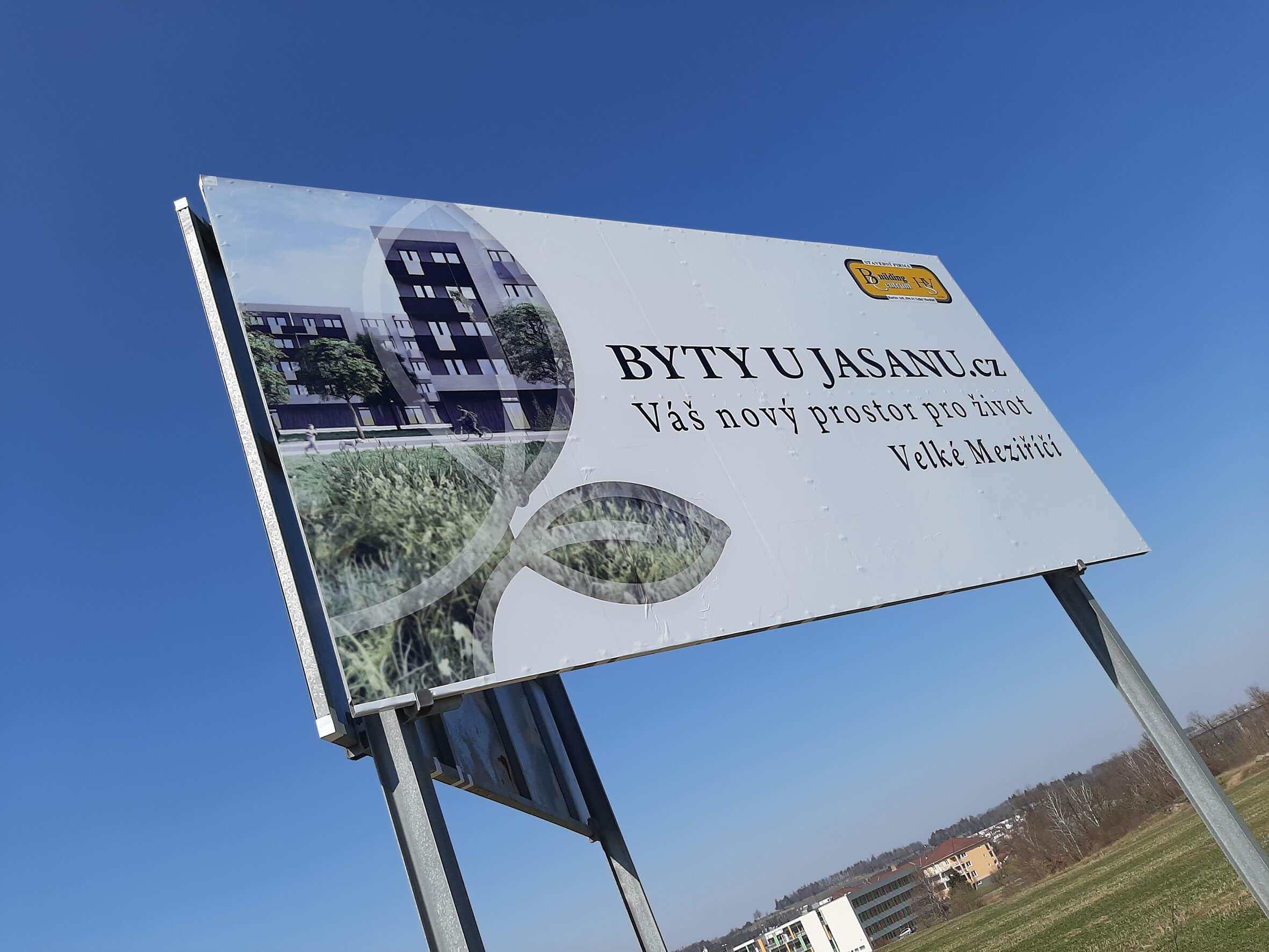 BUILDING CENTRUM – polep billboardu