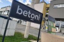 BETONI – realizace polepů a prezentace nové značky