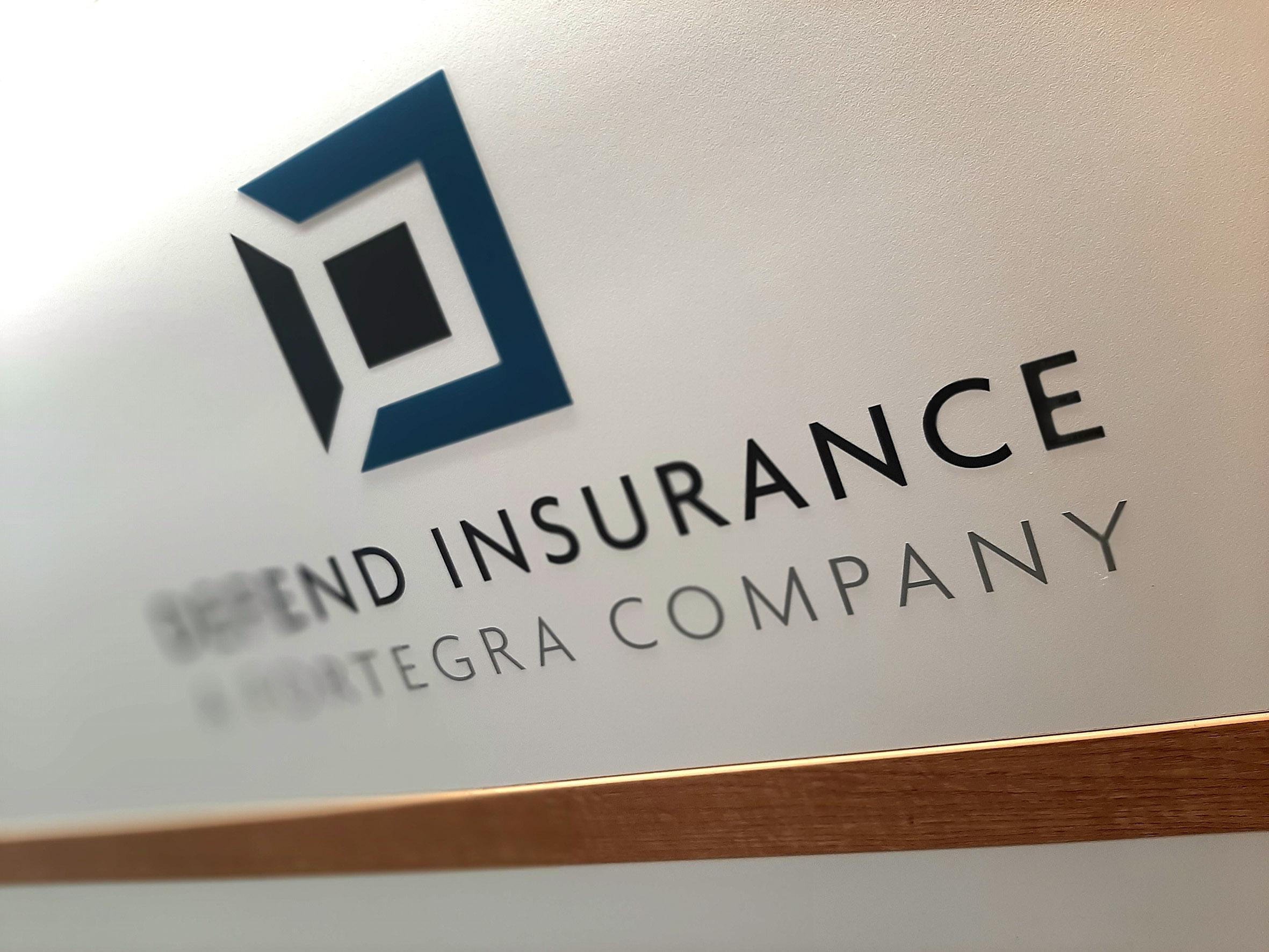 DEFEND – identita firmy – polepy v interiérech, polepy aut