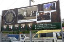 Pension Nad Hájkem – výroba billboardu
