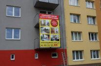 S.O.K. stavební – výroba a výplet banneru