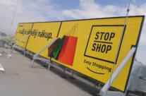 STOP SHOP – polep billboardu