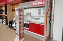 KORYNA – výroba reklamních stojanů pro kampaň do hobbymarketů